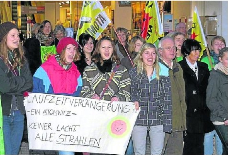 Demo Anti-Atomkraft in Korbach